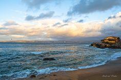 Sunset in Monterey.