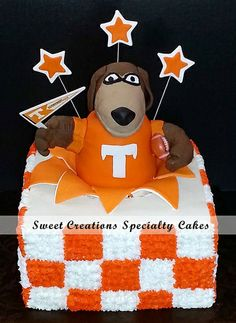 University Of Tennessee Mascot Smokey Cake By Ellie Abbott Sweet