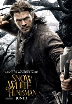 Chris Hemsworth Snow White and the Huntsman Poster. Wouldn't he make a perfect Jamie Fraser?