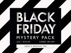 Black Friday Mystery Pack save a massive 70%