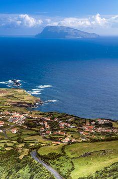 Ponta Delgada, on São Miguel Island, is the capital of the Azores archipelago of Portugal. San Miguel Island, Places To Travel, Places To See, Ponta Delgada, Hallstatt, Portuguese Culture, Spain And Portugal, Portugal Travel, Surf Trip