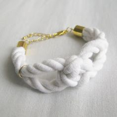 SQUARE KNOT DIY * NECKLACE * BRACELET * RING * | MY WHITE IDEA DIY