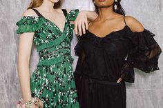 From left: Self Portrait dress from Holt Renfrew; Alexis dress from Holt Renfrew. Self Portrait Dress, Holt Renfrew, First Night, Classic Style, Party Dress, Prom, Formal, How To Wear, Wedding