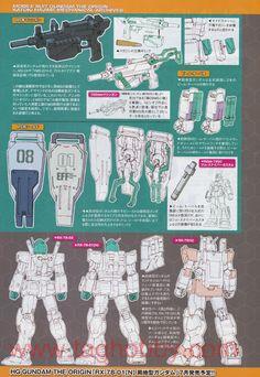 Mobile Suit Gundam The Origin: Mechanical Archives - Image Gallery Robot Series, Gundam Mobile Suit, Gundam Art, Mecha Anime, Super Robot, Mechanical Design, Gundam Model, Design Reference, Designs To Draw