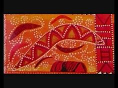 aboriginal history video....work looks very similar to Keith Haring work