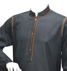 Gents Kurta Design, Boys Kurta Design, Kurta Neck Design, Mens Shalwar Kameez, Kurta Men, Kaftan Designs, Kurta Patterns, Indian Groom Wear, Kurta Style