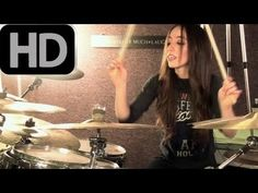 RISE AGAINST - SAVIOR - DRUM COVER BY MEYTAL COHEN - YouTube Look this chick is awesome. Just awesome.