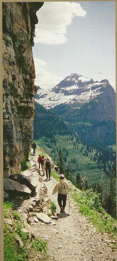 #RVing Hiking Highline Trail ~ Glacier National Park, Montana