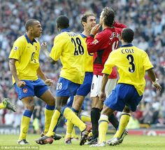 Arsenal vs Manchester United, The Good Old Days.