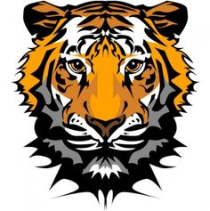 The tiger picture 20 vector Vector misc - Free vector for free download