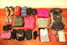One Week Packing List: Peru and Machu Picchu (Including Inca Trail trek) - via @Steph Uniacke