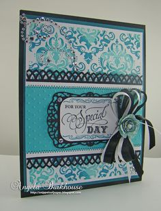 Snippets of Paper: JustRite Papercraft Grand Birthday Sentiments Cling Stamps