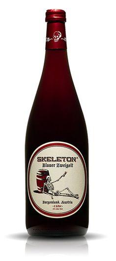 Skeleton Wines Label