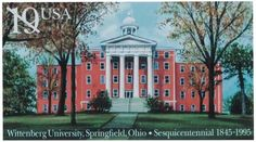 Wittenberg University in Springfield, Ohio, celebrated its 150th anniversary in 1994.