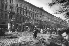 Budapest Hungarian Uprising 1956 by Micheal Rougier Life Pictures, Old Pictures, Old Photos, Vintage Photos, Architect Jobs, Architecture Old, Architecture Student, Cities In Europe, Budapest Hungary