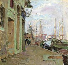 Carl Moll: La Secesión de Viena Vienna Secession, Kandinsky, Renoir, Monet, Impressionist, Great Artists, Art Nouveau, Austria, Boats
