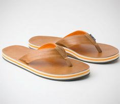 Tan  Orange Hari Mari Lakes // Crafted with premium leather, high-test nylon  dense rubber, this Tan  Orange awaits your next adventure, and whether that's indoor or out, it won't judge.