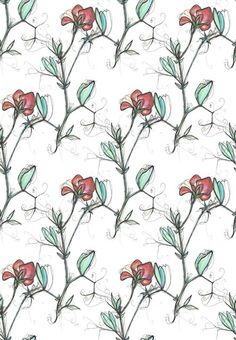 Textile Design by Enchanted Textile Design on Behance