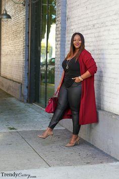 Stylish Plus-Size Fashion Ideas – Designer Fashion Tips Look Plus Size, Curvy Plus Size, Plus Size Fashion For Women, Plus Size Women, Curvy Outfits, Fashion Outfits, Night Outfits, Womens Fashion, Fashion Trends