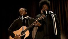 "Watch: ""Black Simon and Garfunkle"" on Fallon [VIDEO] — NYC's hottest black folk act beautifully covers One Direction on ""Late Night With Jimmy Fallon."""