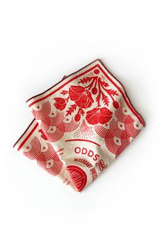 The Poppy Bandana is in ode to our California state flower. Textiles, Textile Patterns, Print Patterns, Bandana Design, Scarf Design, Red Poppies, Screen Printing, Pattern Design, Style Inspiration