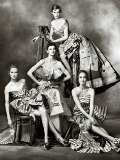 Moschino Fall 2014 Campaign by Steven Meisel