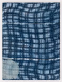 Untitled, Cyanotype, Hugh Scott-Douglas, 2013 (via the absolute. Textile Art, Textile Design, Textures Patterns, Print Patterns, Yellena James, Sun Prints, Alternative Photography, Mood Indigo, Textiles