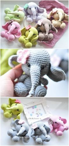 The Sweetest Crochet Elephant Patterns To Try You'll love our Elephant Crochet Post that includes Elephant Crochet Rug, Elephant Crochet Pillow, Elephant Crochet Blanket and Elephant Crochet Amigurumi Crochet Pillow, Crochet Afghans, Crochet Bear, Cute Crochet, Baby Blanket Crochet, Crochet Dolls, Crochet Crafts, Crochet Projects, Easy Crochet