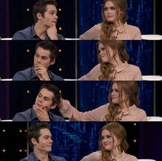 These two are perfect for each other Teen wolf stydia Teen Wolf Isaac, Teen Wolf Dylan, Teen Wolf Cast, Dylan O'brien, Series Movies, Tv Series, Netflix Series, Maze Runer, Teen Wolf Stydia