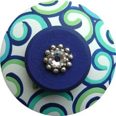 Colorful Hand Painted Drawer Knobs for Kids & Teens Custom Designs