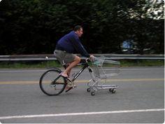 Cart-Bike ショッピングカート付き、バイク