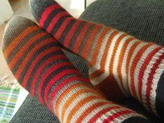 Lankaterapiaa: Paluu perusasioihin - Zauberball stripes