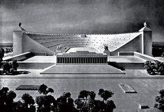 L'arte nei regimi totalitari - Albert Speer, modello dello stadio di Norimberga Neue Deutsche Baukunst.