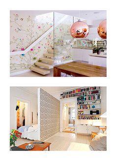 Decoração: Idéia para paredes   O que é essa parede de flore…   Flickr