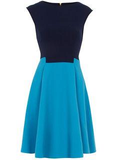 Contrast panel dress Dorothy Perkins