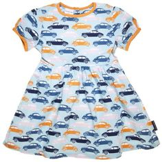 Now thats what I'm talking about in terms of subverting gender stereo-types Car print child dress by Swedish label, Polarn o. Pyret. 25quid.