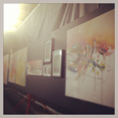 """@_the_alley's photo: """"Sneak peak of the beautiful artwork by @clairefoord_artist on the eve of #Sensorial opening night @ #_the_alley #excitement #ADLfringe"""" Beautiful Artwork, Opening Night, Eve, Behind The Scenes, Artist, Amen, Artists"""