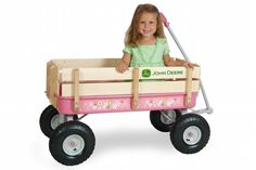 John Deere girl accessories | Picture: Pink John Deere wagon provided by Pedal Car Planet Nationwide ...
