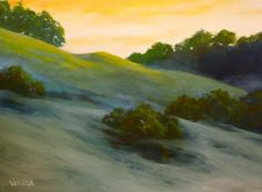 Untitled oil on canvas--24X30.  By William Webster.