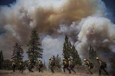 yosemite rimfire | Yosemite Wildfire - In Focus - The Atlantic