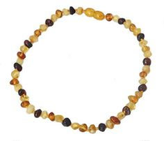 Baltic Amber Teething Necklace, Baby Jewelry, Bee, Beaded Necklace, Calm, Unisex, Amazon, Accessories, Beaded Collar