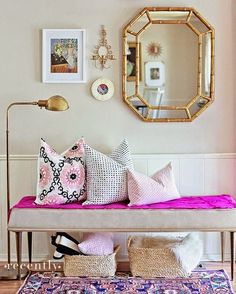 12 Ways To Decorate An Entry http://www.devonrachel.com