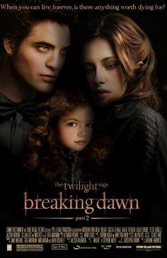 Breaking Dawn part 2 fan art movie poster