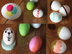 10 simple and unique ways to decorate Easter eggs!