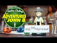 Adventures of John B. - Day 2 - John B. has found the formula for success for #HatterChallenge. Let's blow this campaign out of the water! See how your gifts help students explore, investigate and tackle solutions to life's challenges. #wehavegreatchemistrytogether #goggleson www.stetson.edu/hatter-challenge