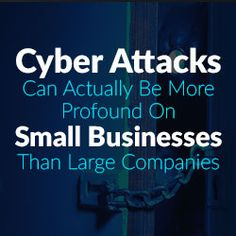 cyber crime backup recovery it's effect on small business - big pain point large money losses - good read for any small business owner