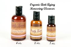 Sweet Face Minerals Inc. - Anti Aging Renewing Cleanser, $14.99 (http://sweetfaceminerals.com/anti-aging-renewing-cleanser/)