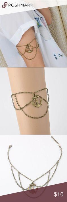 Anchor upper arm bracelet Anchor upper arm bracelet Jewelry Bracelets