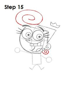 How to Draw Wanda (Fairly OddParents) Easy Disney Drawings, Easy Cartoon Drawings, Cartoon Drawing Tutorial, Art Drawings Sketches Simple, Easy Drawings, Easy Cartoon Characters, Spongebob Drawings, Cartoon Painting, Cartoon Coloring Pages