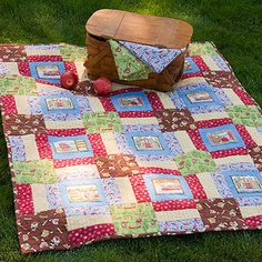 Debbie Mumm: Quilt Project - site gives everything you need to now for this pattern